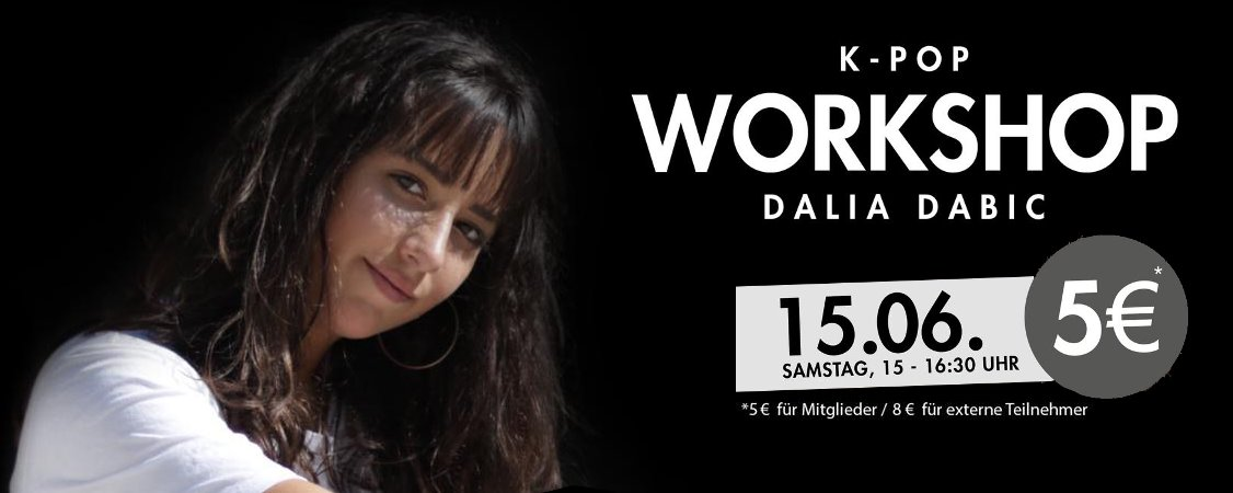 Workshop K-Pop am 15.06.2019