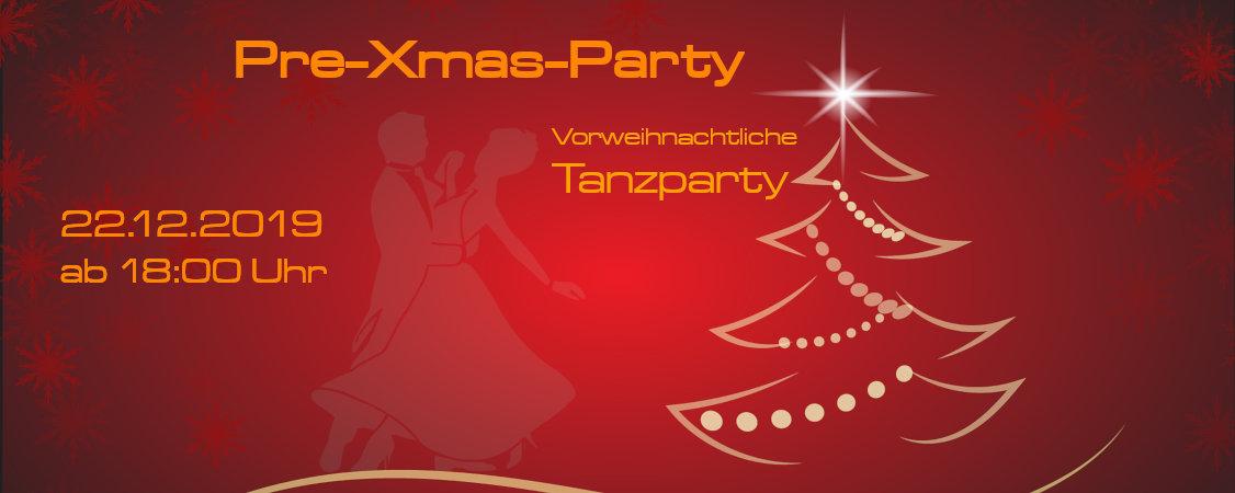 Pre-Xmas-Party / Weihnachtliche Tanzpatzy  am 22.12.2019 ab 18:00 Uhr