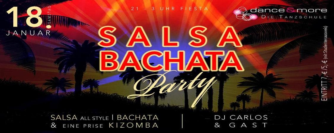 Salsa-/Bachata-Party am 18.01.2020