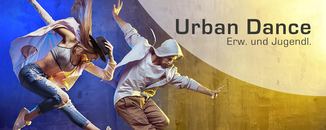 Urban Dance: bei uns in zahlreichen Varianten