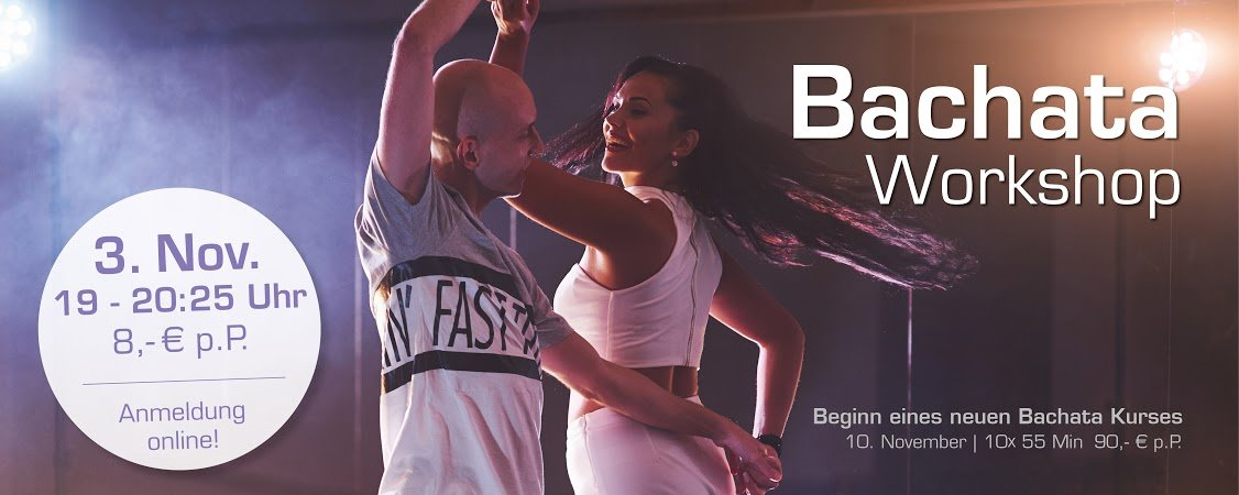 Bachata Workshop am 03.11.2020